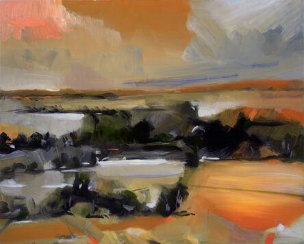 Simon Andrew, 'Orange Winter Landscape', 2020