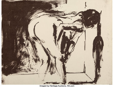 Eric Fischl, 'Annie, Gwen, Lilly, Pam and Tulip (Bending Woman)', 1986