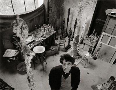 Robert Doisneau, 'Alberto Giacometti dans son atelier (Alberto Giacometti in his atelier)', 1957