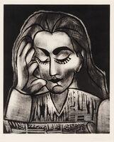 Pablo Picasso, 'Jacqueline Reading', 1964