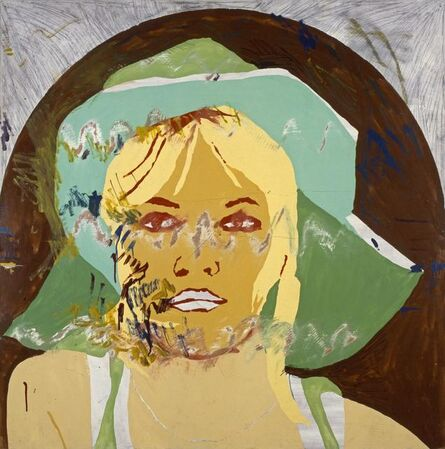 Per Kirkeby, 'Brigette Bardot', 1967