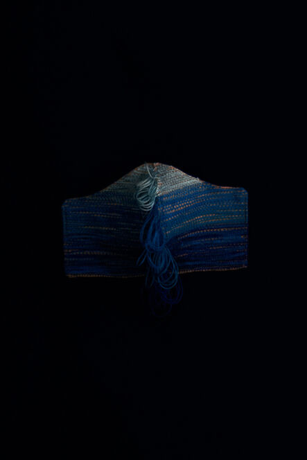 Pierre le Riche, 'Untitled IV (mask in blues)', 2020