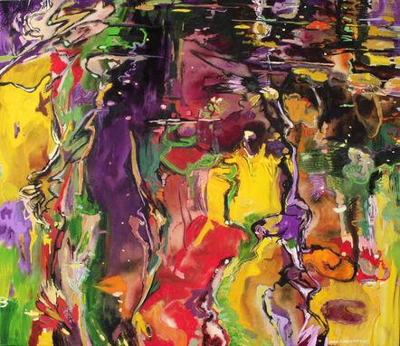 David Alexander, 'Coloured Slip, Deepening', 2015