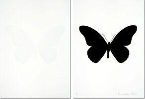 Damien Hirst, 'The Souls IV - Cotton White  + Raven Black (sold as set)', 2010