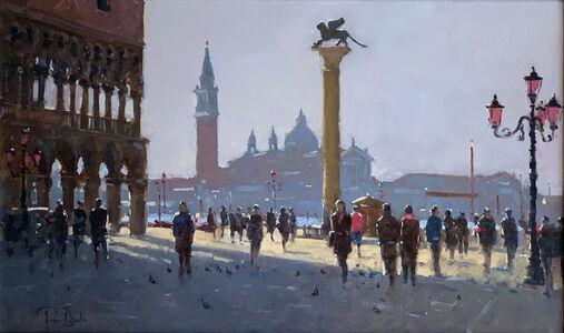 Peter van Breda, 'Early Morning, Piazetta, Venice', 2018