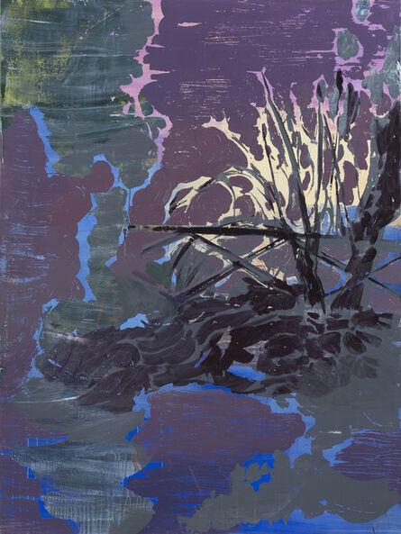 Lu Song, 'Garden Sunset 花园日落', 2019