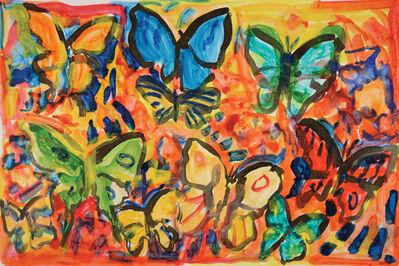 Hunt Slonem, 'Bird Wing-A', 2013