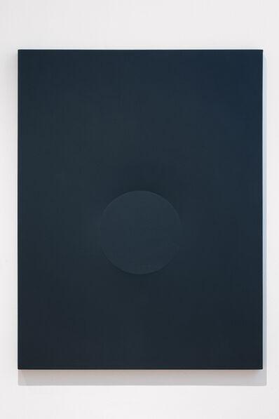 Turi Simeti, 'Un tondo grigio', 1989