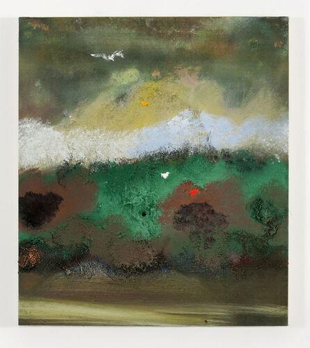 "Merlin James, '""Cloud + Foliage"" ', 2003"