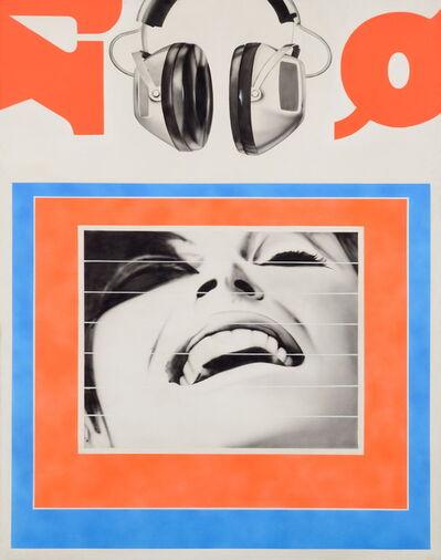 Peter Klasen, 'PARACOLLAGE N°7', 1968