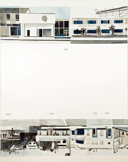 Amy Park, 'Ed Ruscha's Every Building on the Sunset Strip, #24', 2016