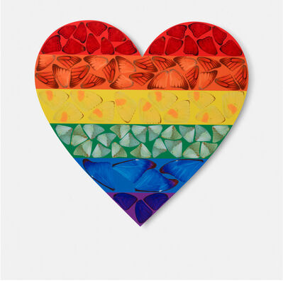 Damien Hirst, 'H7-3 Butterfly Heart (Large)', 2010