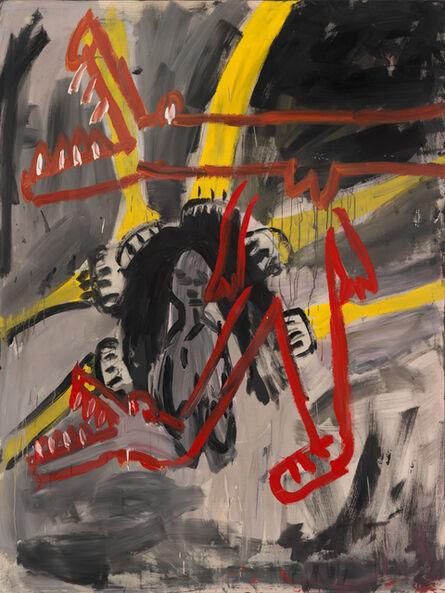 Walter Dahn, 'Aus Schuhen werden Krokodile', 1981