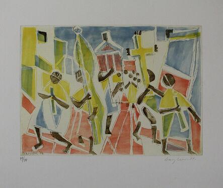 Eduard Bargheer, 'Corpus Domini', 1974