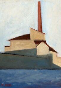 Ottone Rosai, 'La fabbrica', 1956