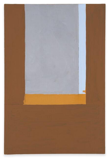 Robert Motherwell, 'Open No. 54: The Gray Window', 1969