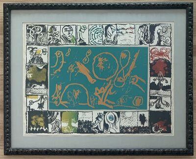 Pierre Alechinsky, 'Magic Mirror', 1969