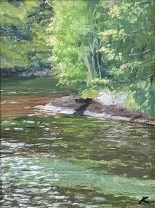 Kate Edwards, 'Secret Cove on Lake', 2020