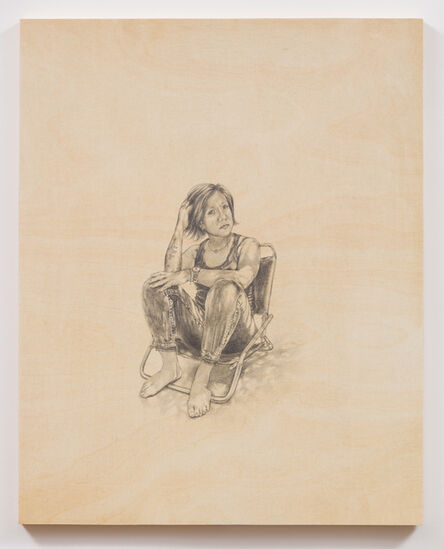 Shizu Saldamando, 'La Alma', 2018