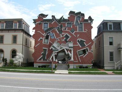 Michael Jantzen, 'Deconstructing the Houses 12', 2015
