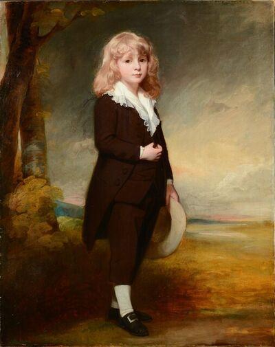 George Romney, 'Portrait of Joseph Mawbey (1772–1817)', 1779-1780