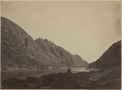 Timothy H. O'Sullivan, 'Iceberg Canyon, Colorado River, Looking Above', 1871