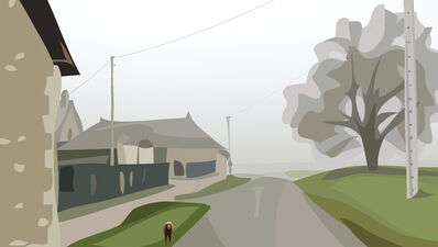 Julian Opie, 'Winter 39.', 2012