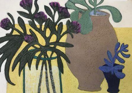 Angela A'Court, 'Blue Plant', 2019