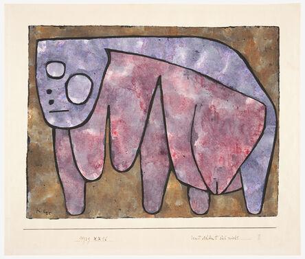 Paul Klee, 'Und schämt sich nicht (And Not Ashamed)', 1939