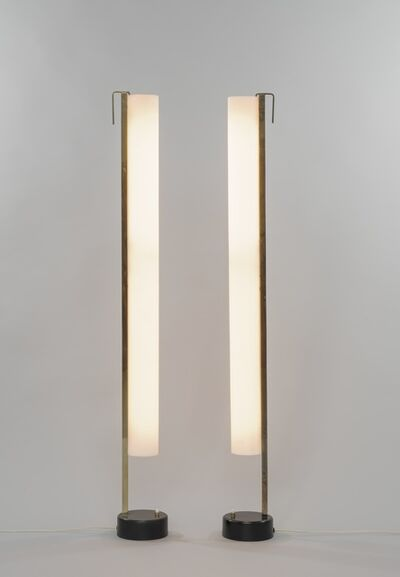 Pierre Guariche, 'Pair of floor lamps G54', 1959