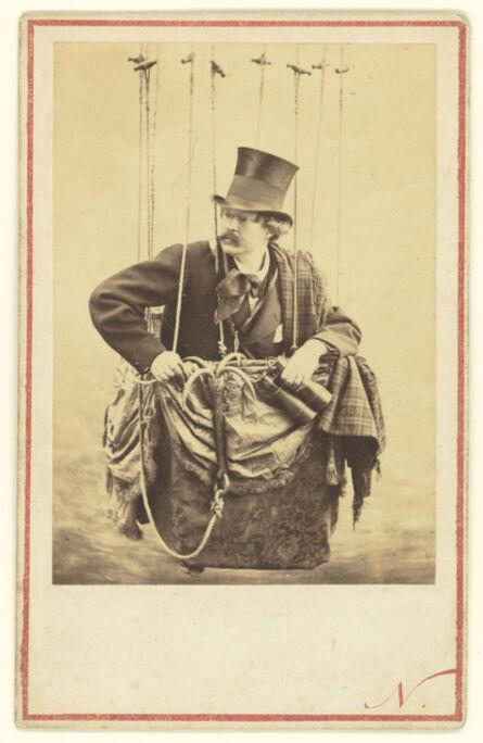 Nadar, 'Felix Nadar in the Gondola of a Balloon', 1863