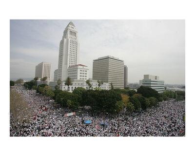Armando Arorizo, 'Inmigration Rights Protest, Los Angeles', 2006