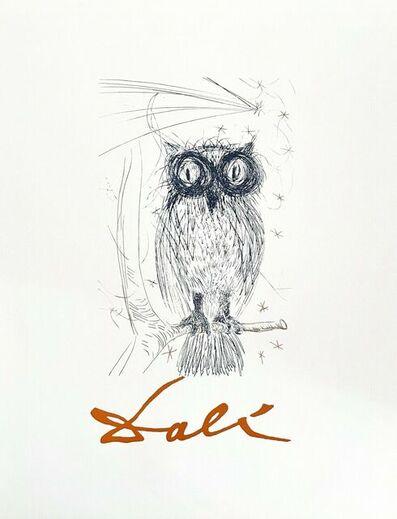 Salvador Dalí, 'Owl', ca. 1980