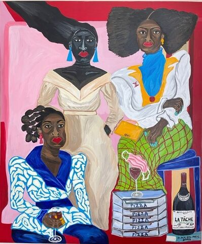 Sophia Oshodin, 'Three Graces', 2021