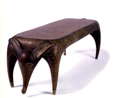 Judy Kensley McKie, 'Timid Dog Bench', 2004