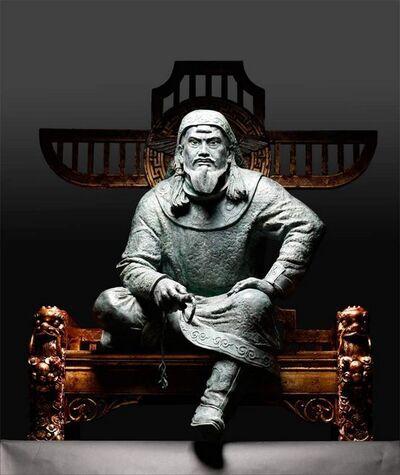Ivan Korzhev, 'Genghis Khan', 2014