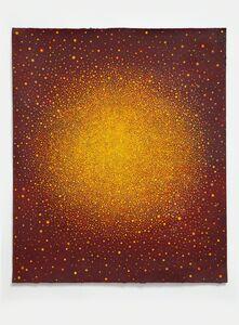 Karen Arm, 'Untitled (Yellow-Orange Sun on Red) ', 2015