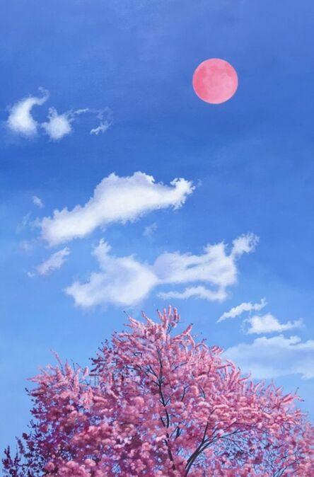 Soizick Meister, 'Pink Moon', 2020