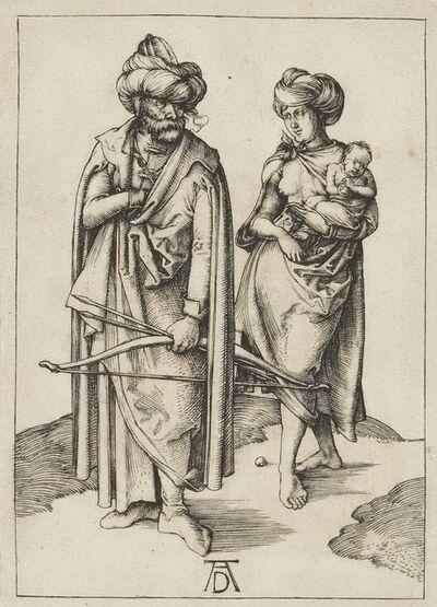 Albrecht Dürer, 'A Turkish Family (B. 85; M., Holl. 80; S.M.S. 12)', ca. 1496