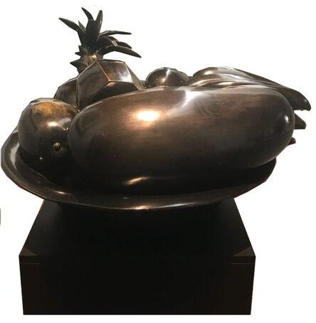 Ana Mercedes Hoyos, 'Bowl with bananas', 2002
