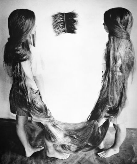 Tunga, 'Xifópagas Capilares', 1984