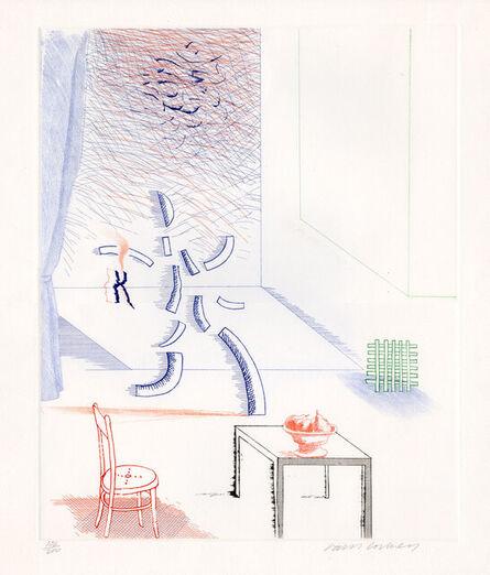 David Hockney, 'Tick It, Tock It, Turn It True', 1976-1977