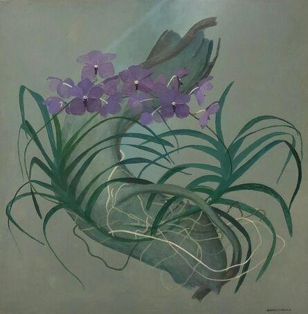 Bernard Séjourné, 'Purple Orchid', 1981