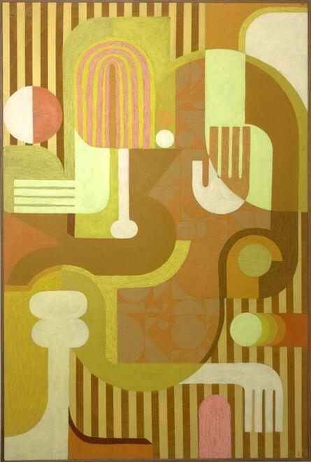 Krista Rosenkilde, 'Yellow Structures', 2020