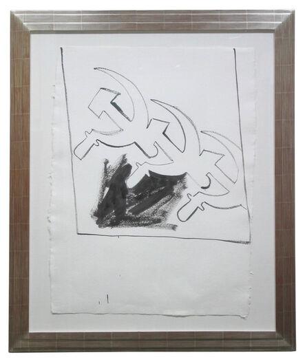 Andy Warhol, 'Three Soviet Hammer & Sickles', ca. 1983
