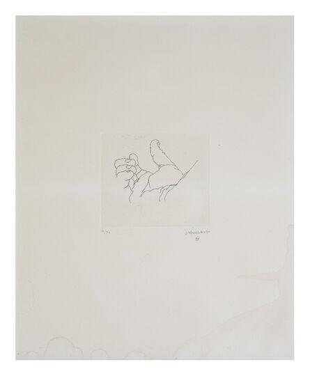 Eduardo Chillida, 'Esku VII', 1973