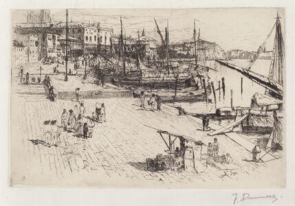 Frank Duveneck, 'Riva degli Schiavoni (2)', ca. 1880