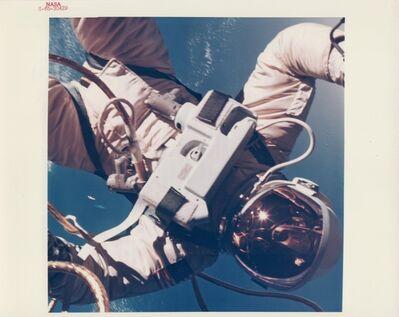 James McDivitt, 'Ed White walking in space over the Gulf of Mexico, Gemini 4, June 1965'