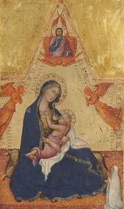 Andrea di Bartolo, 'Madonna and Child [obverse]', ca. 1415