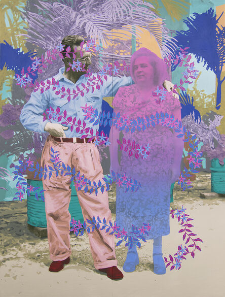 Daisy Patton, 'Untitled (Mischievous Couple)', 2018